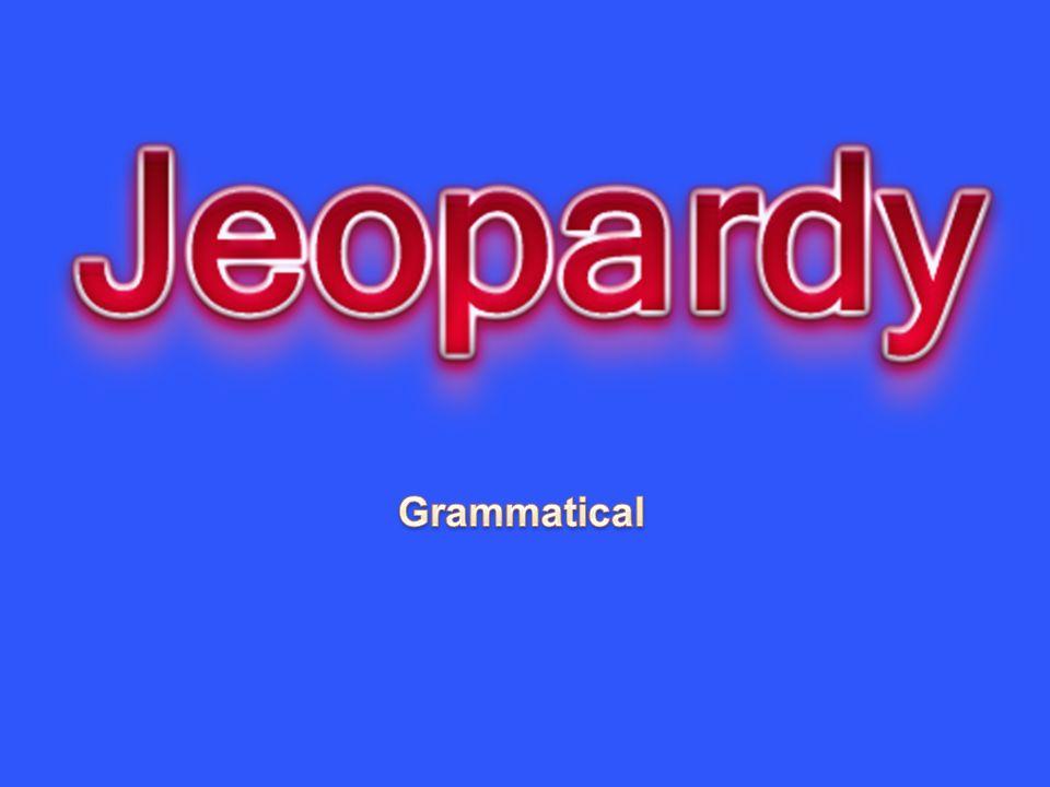 Réponse 2 – 50 a)__le__ vacarme b)__les__ marches (f.p.) c)__le__ met d)__la___ connexion (tous les mots en –xion sont féminin!) e) __l___ exploit (m.s.) *10 points par déterminant.