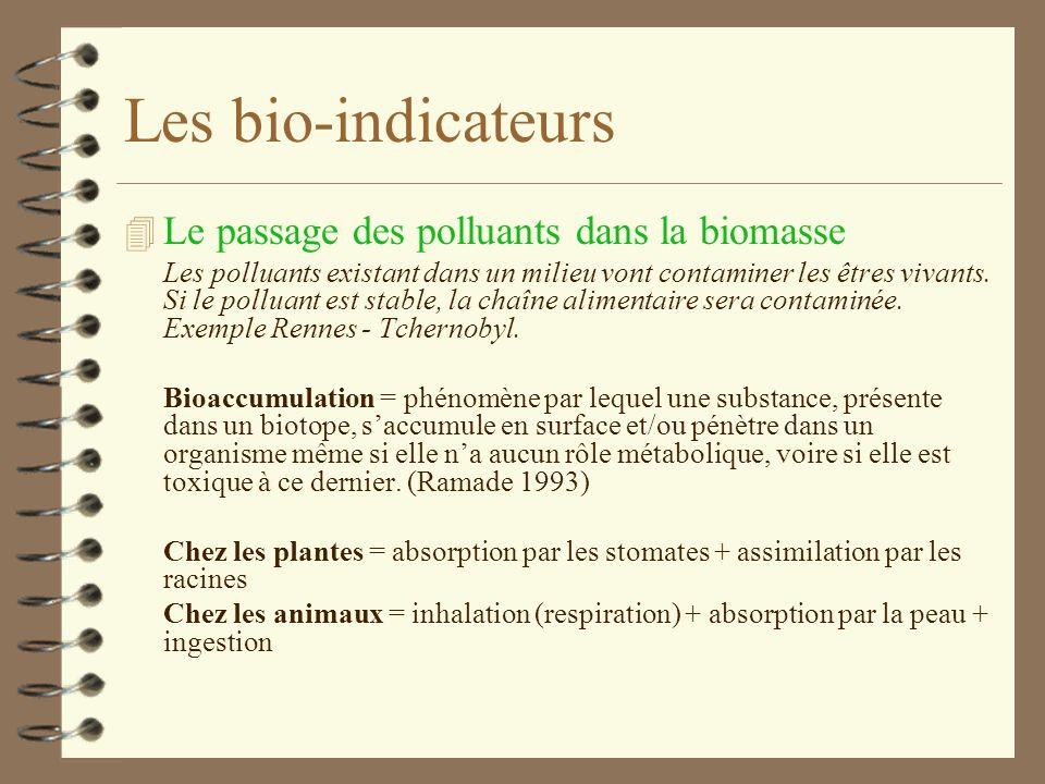 Table des Matières 4 1. Mise en situation 4 2. Introduction : Les polluants et leurs sources 4 3. Evolution de la qualité de lair 4 4. Les bio-indicat