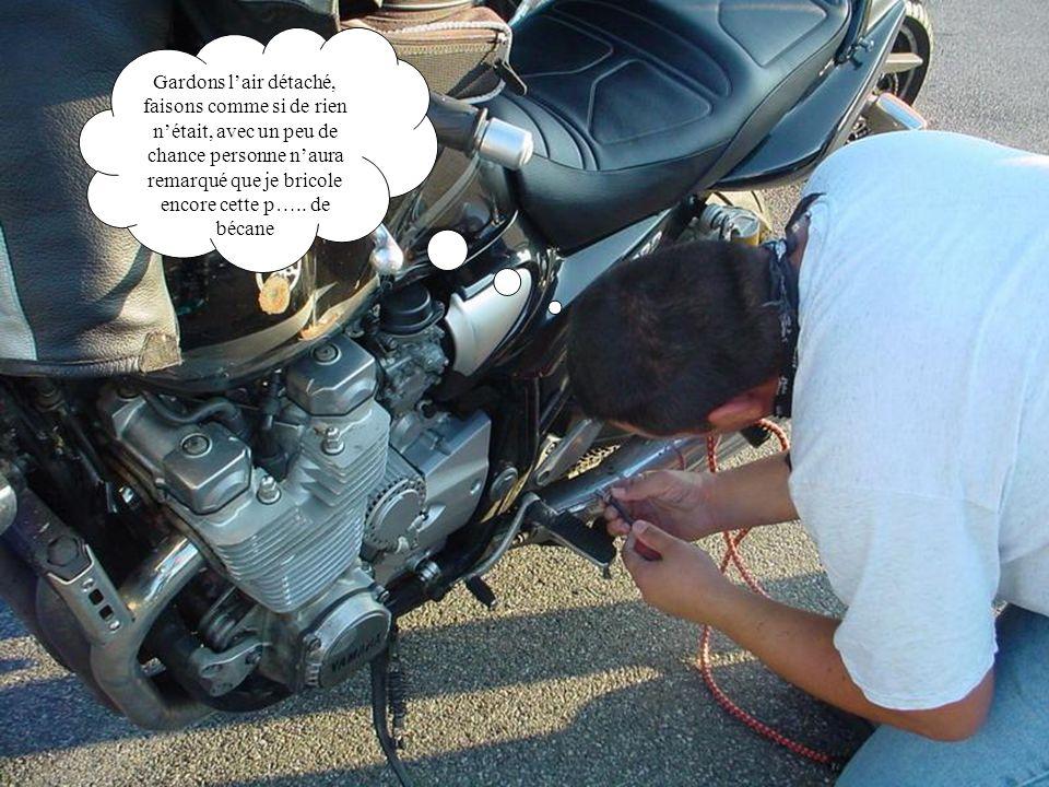 Chui mort de rire, « Ducati boîte à outils », quy disaient….