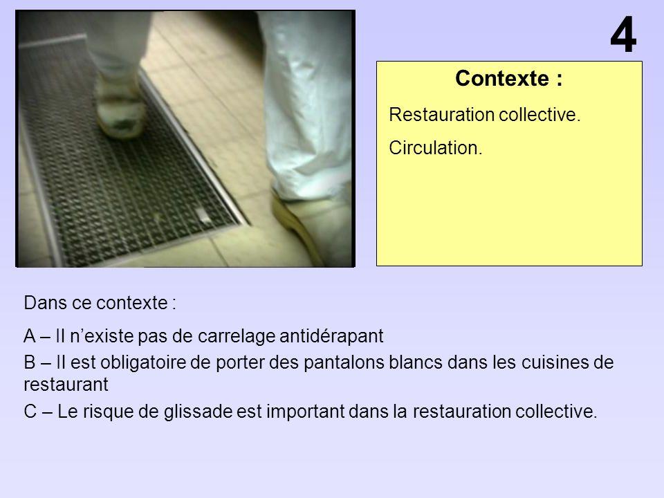 Contexte : Dans ce contexte : A – Les vapeurs de ce produit ont des effets euphorisants B – Les vapeurs de produit peuvent prendre feu.