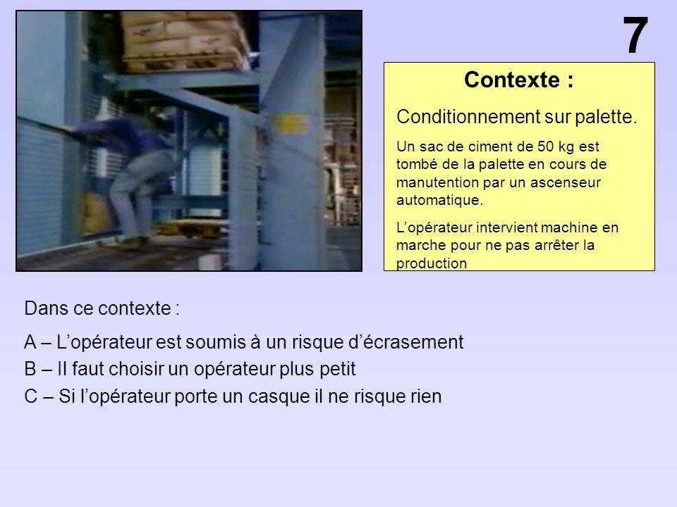 Contexte : Dans ce contexte : A – Le ventilateur va sécher le sol B – Lopérateur ne doit pas porter de cagoule sous son casque C – Les opérateurs sont soumis à un risque délectrisation ou délectrocution.