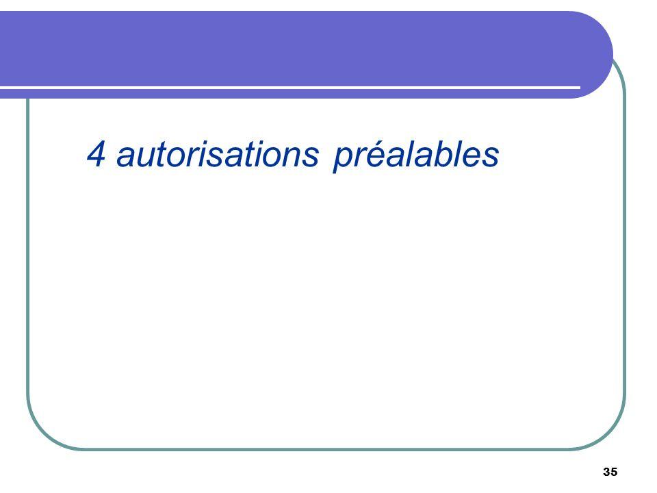 35 4 autorisations préalables
