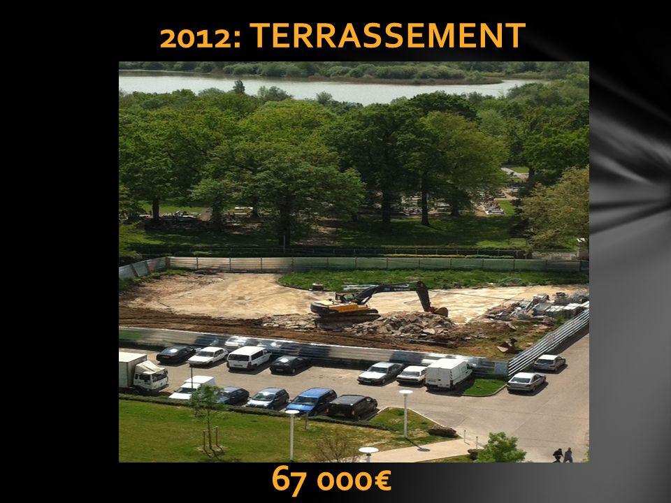 2012: TERRASSEMENT 67 000