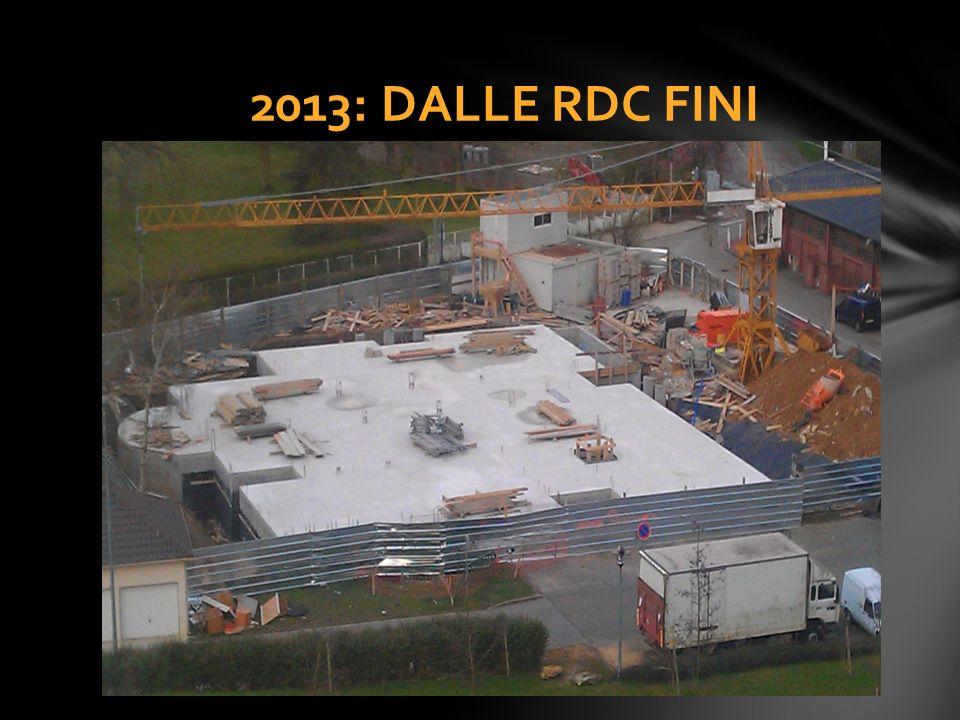 2013: DALLE RDC FINI