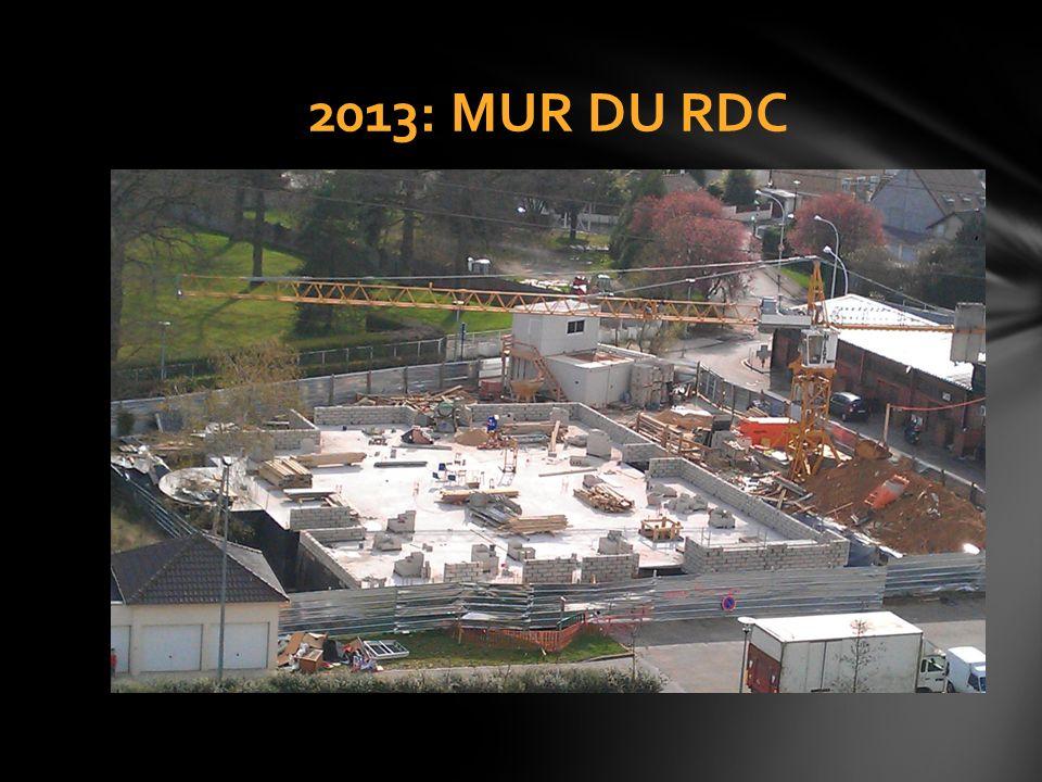 2013: MUR DU RDC