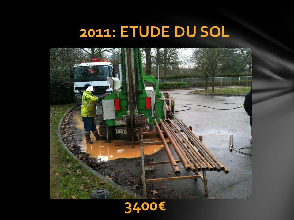 2011: ETUDE DU SOL 3400