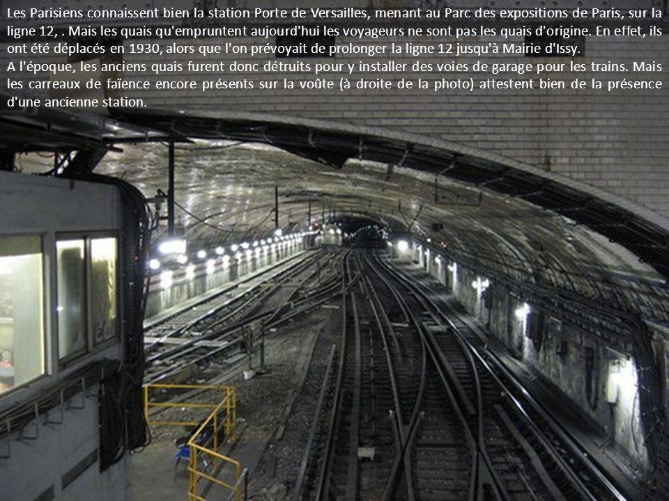 Les Parisiens connaissent bien la station Porte de Versailles, menant au Parc des expositions de Paris, sur la ligne 12,.