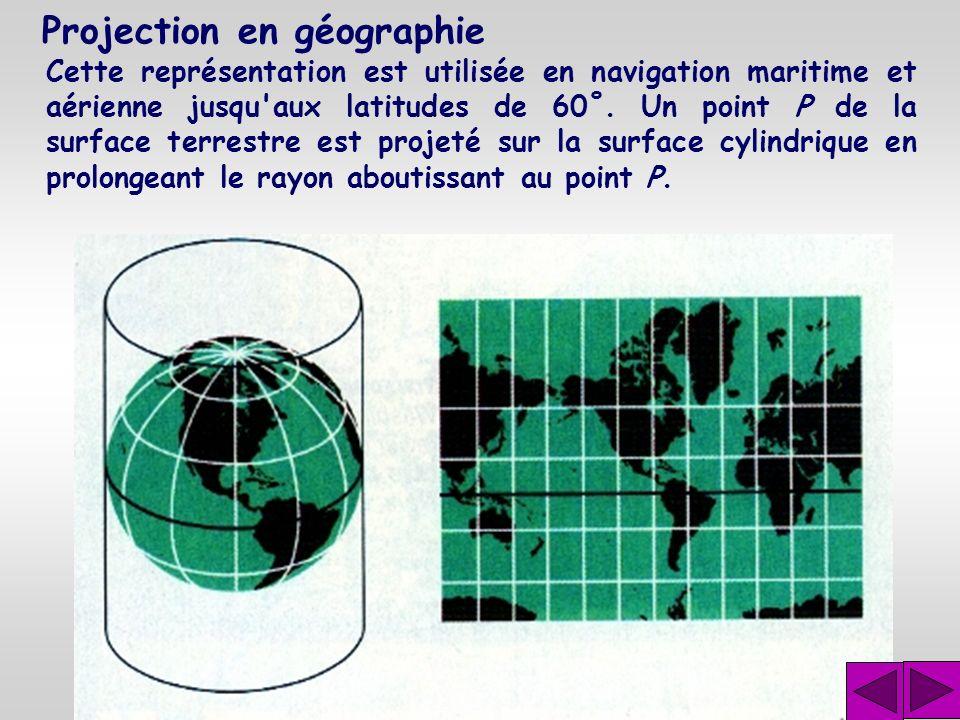 Projection en géographie Le mathématicien et géographe Gérardus Mercator (1512- 1594), est le fondateur de la géographie mathématique mo- derne. Il ré