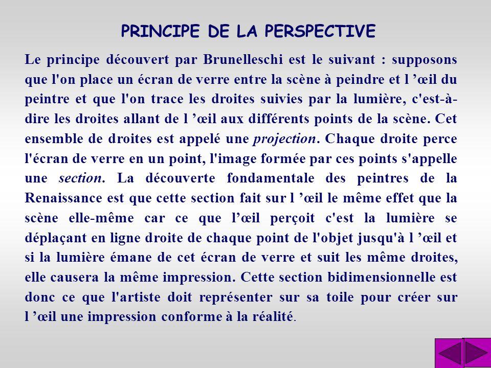 Géométrie projective Cette deuxième question peut également se formuler : Quelles sont les propriétés géométriques communes à deux sections de projections différentes d une même figure?