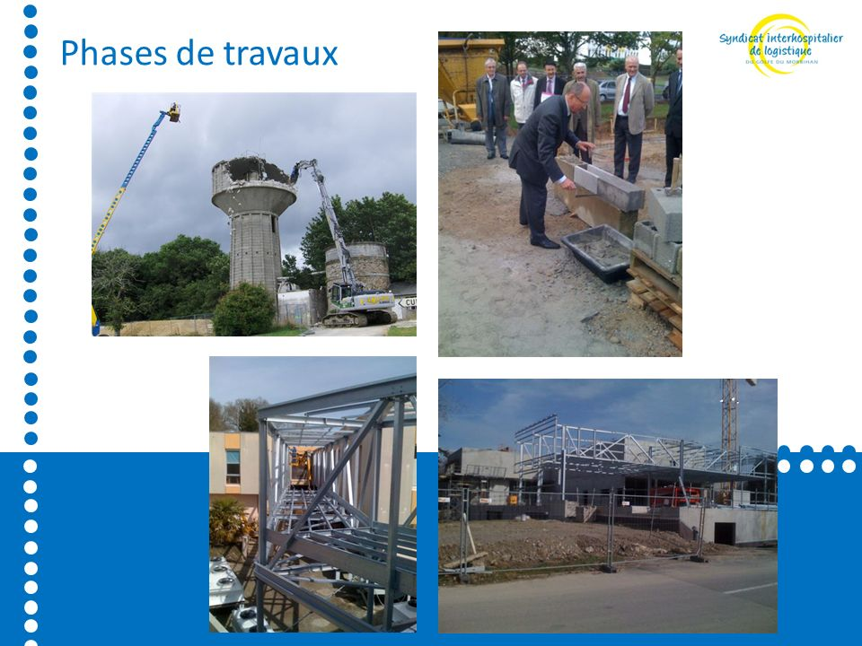 Phases de travaux