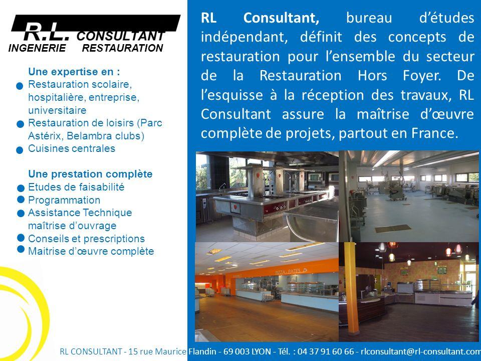 Une expertise en : Restauration scolaire, hospitalière, entreprise, universitaire Restauration de loisirs (Parc Astérix, Belambra clubs) Cuisines cent