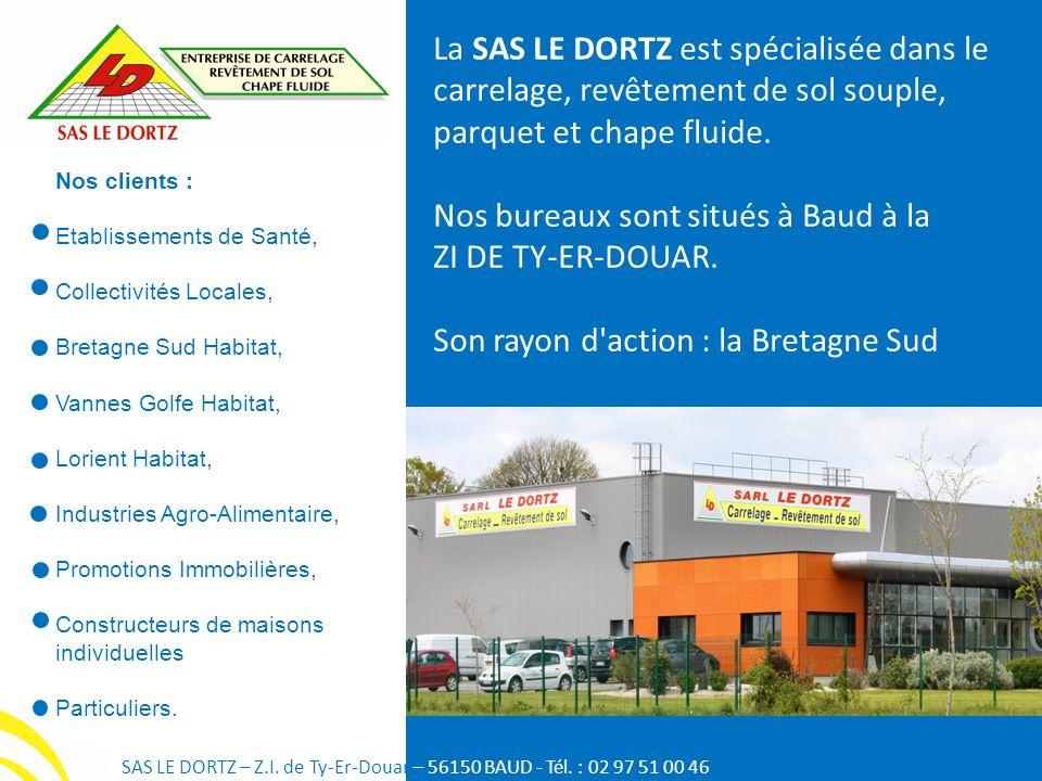 Nos clients : Etablissements de Santé, Collectivités Locales, Bretagne Sud Habitat, Vannes Golfe Habitat, Lorient Habitat, Industries Agro-Alimentaire