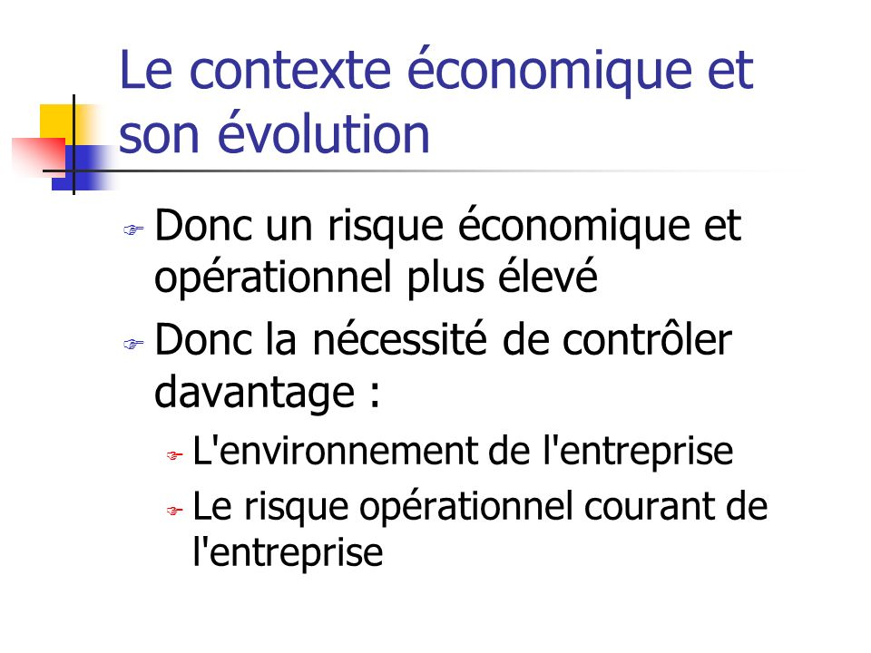 Les 4 principes d efficience d un SIC 3.