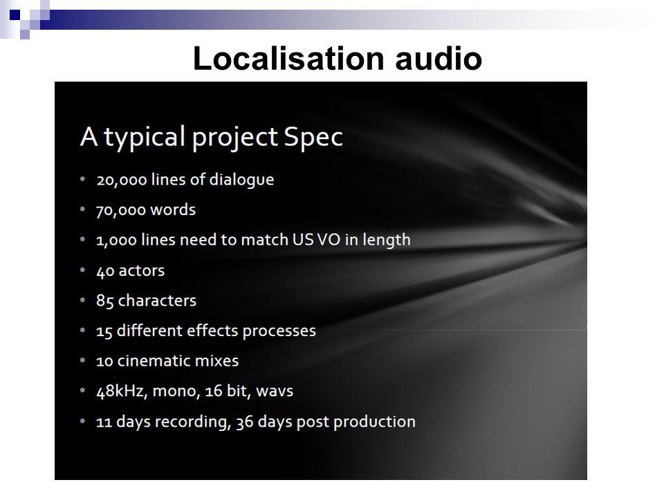 Localisation audio