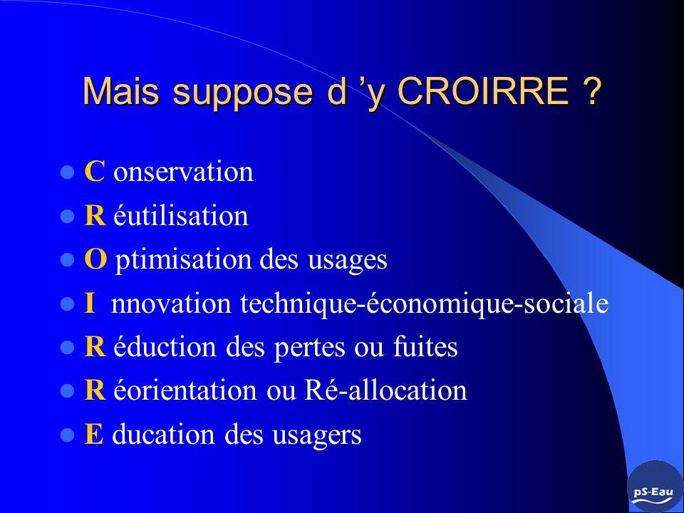 Agriculture et irrigation en première ligne : gains théoriques par la GDE Source Plan Bleu