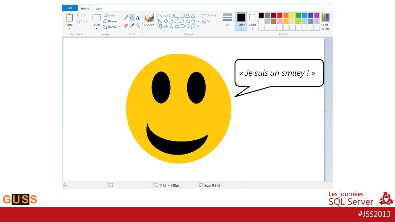 #JSS2013 « Je suis un smiley ! »