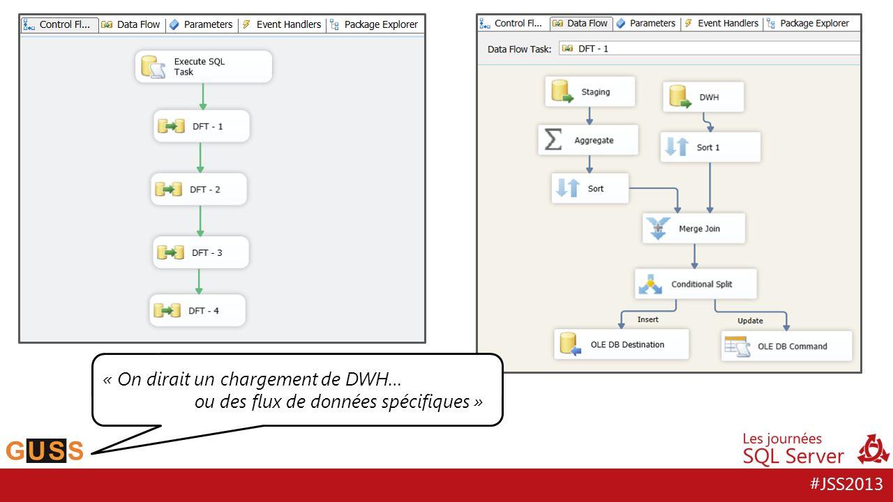 #JSS2013 « On dirait un chargement de DWH… ou des flux de données spécifiques »