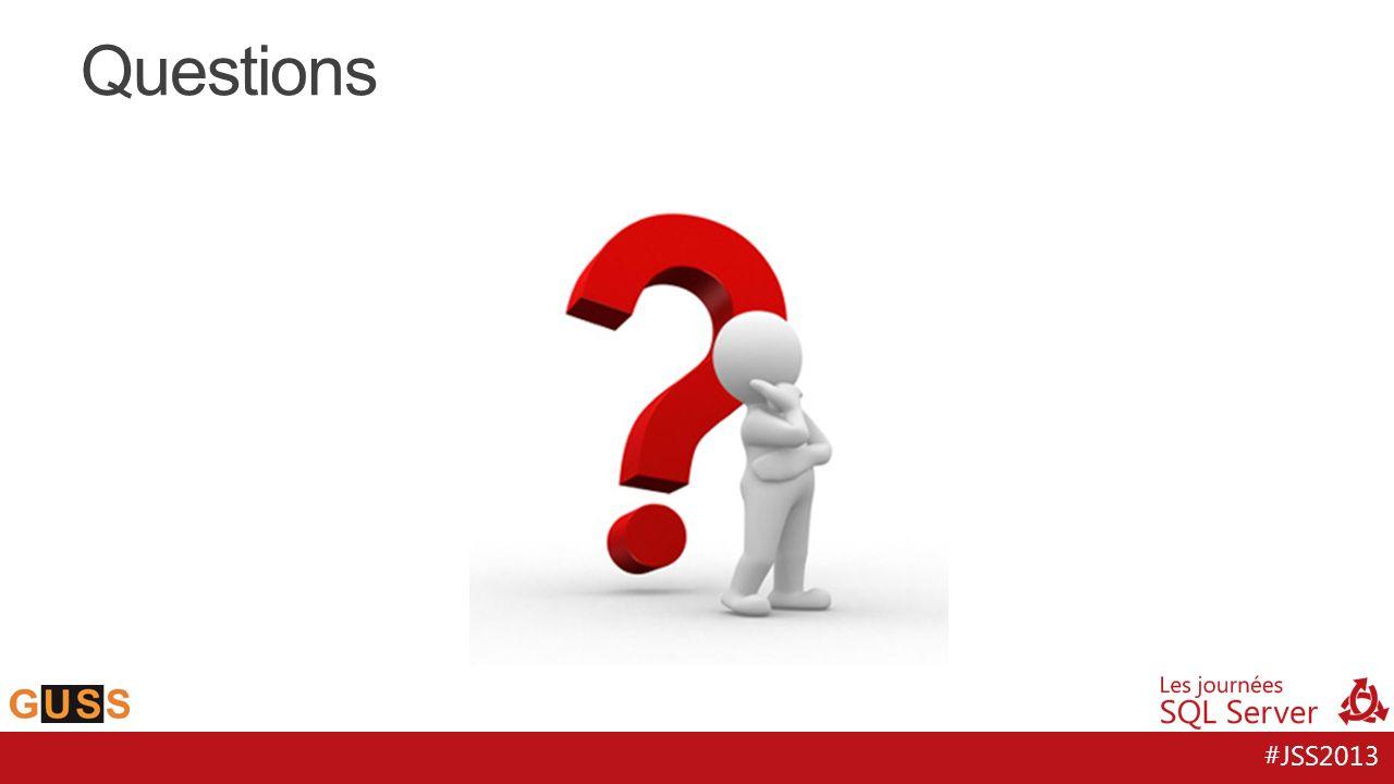 #JSS2013 Questions