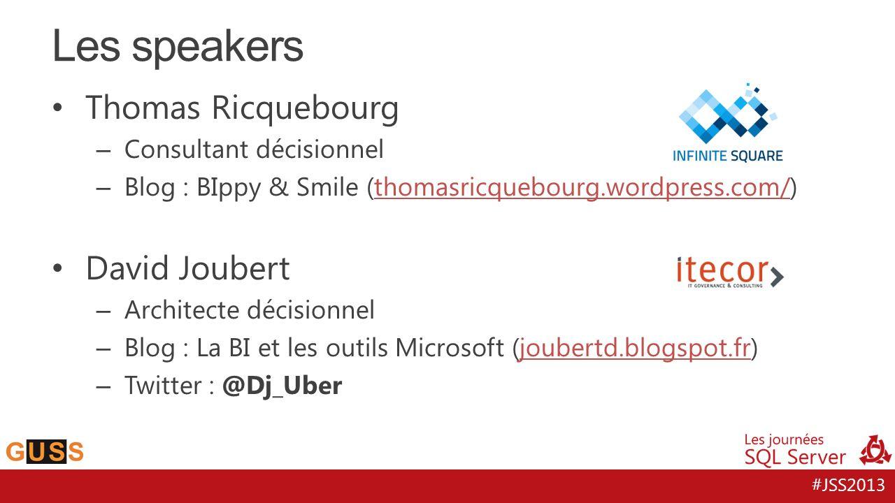 #JSS2013 Thomas Ricquebourg – Consultant décisionnel – Blog : BIppy & Smile (thomasricquebourg.wordpress.com/)thomasricquebourg.wordpress.com/ David J