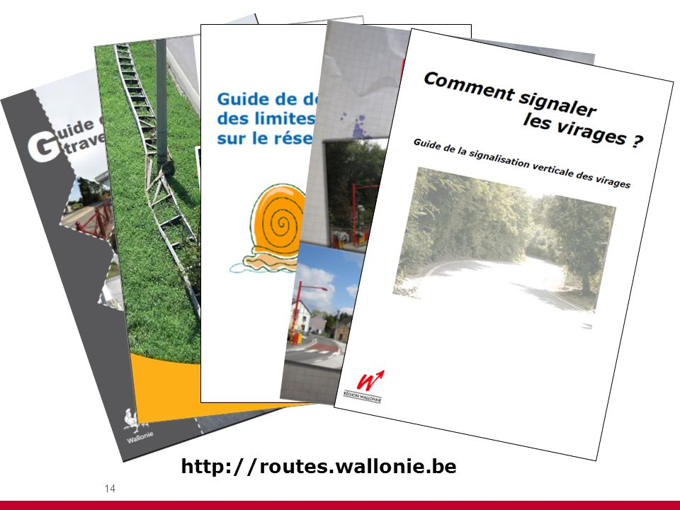 14 Guides http://routes.wallonie.be