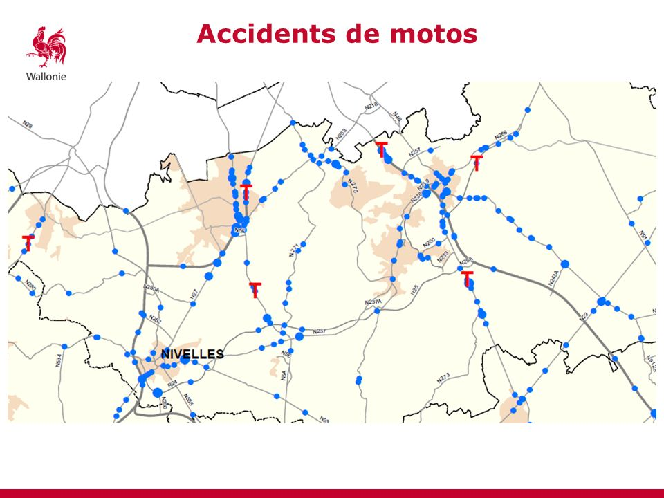 Accidents de motos