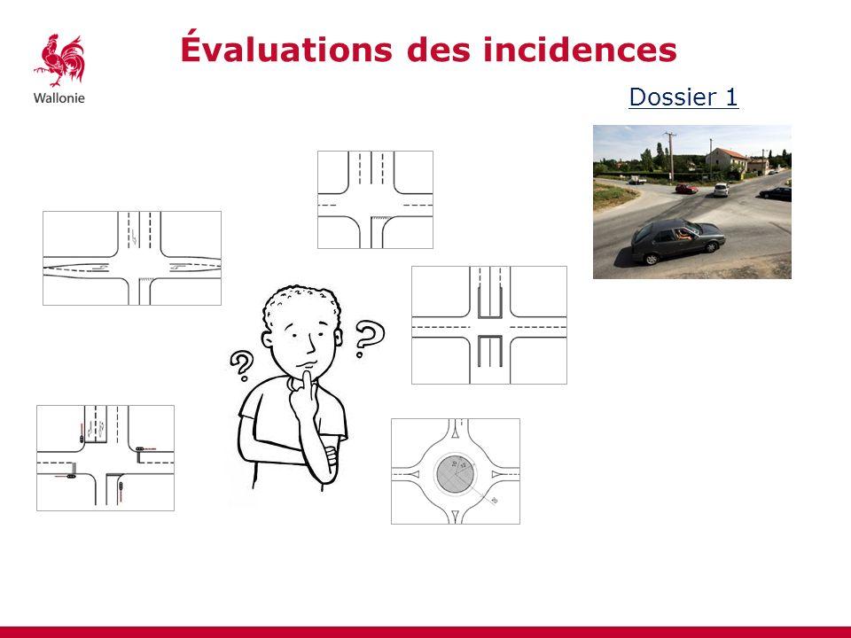 Évaluations des incidences Dossier 1 Option AOption BOption COption DOption E Sécurité-++-++ Mobilité - Voitures - piétons - TEC -+--+- -++-++ o++o++ +-++-+ ++-++- Coûts Emprise -- -o-o Intégration urbanistique +-+--+ …
