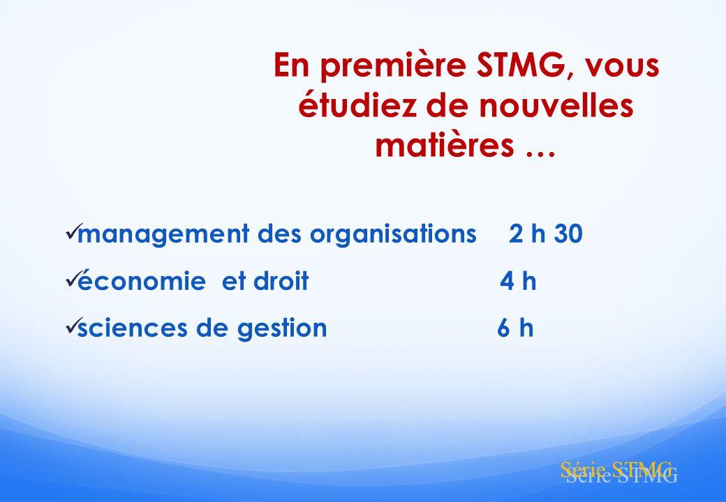 Série STMG La filière expertise comptable (jusquà bac + 8)… DCG Diplôme de comptabilité et de gestion (bac+3) DSCG Diplôme supérieur de comptabilité et de gestion (bac+5) DEC Diplôme dexpertise comptable (Bac +8)
