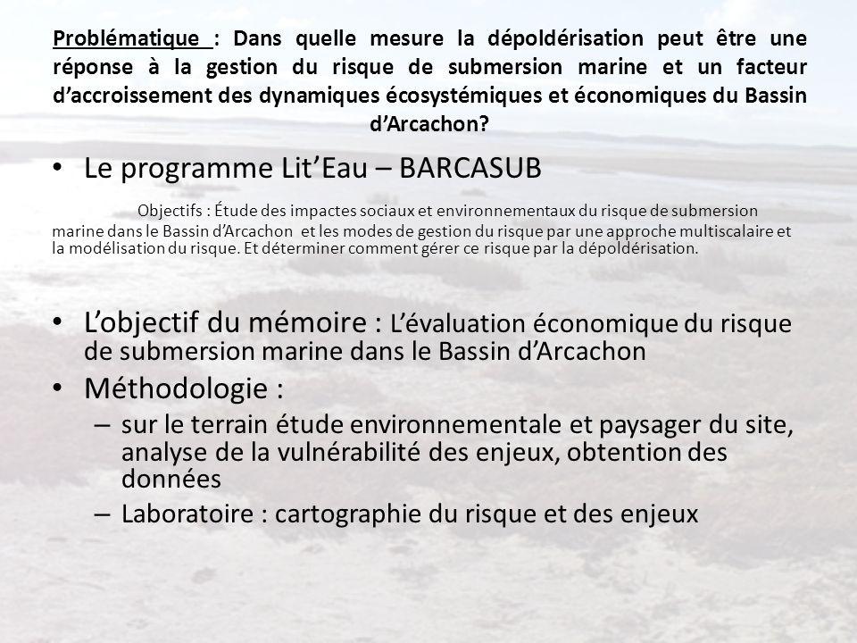 Problématique : Dans quelle mesure la dépoldérisation peut être une réponse à la gestion du risque de submersion marine et un facteur daccroissement d