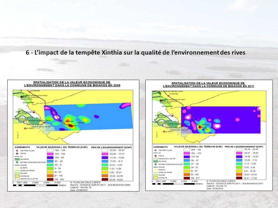 6 - Limpact de la tempête Xinthia sur la qualité de lenvironnement des rives