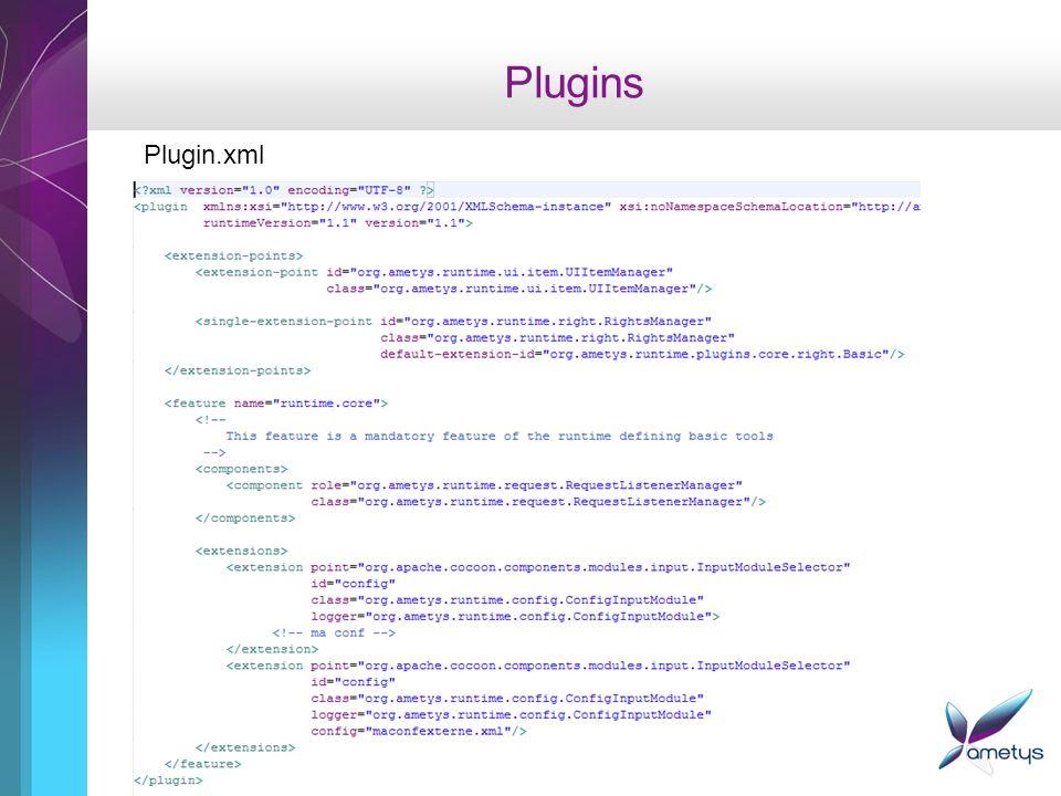 Plugins Plugin.xml