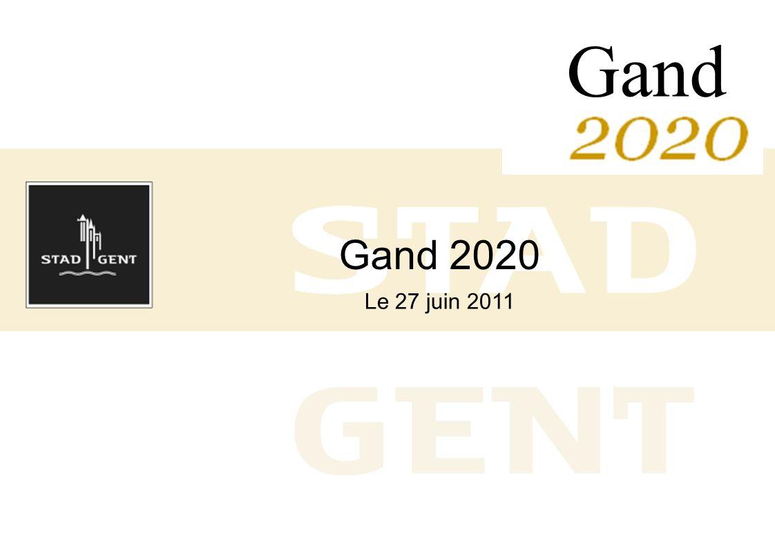 Gand 2020 Le 27 juin 2011 Gand