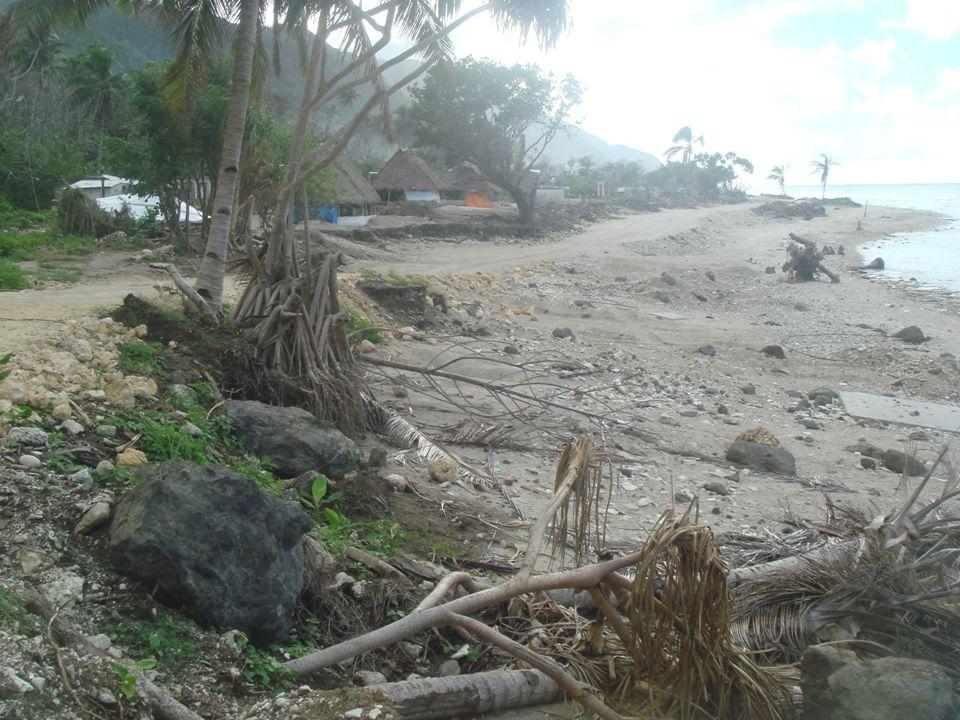 12 Les risques Bantos S, Allenbach M., Mancel C., Pour une intégration optimale des sociétés locales dans la gestion adaptative du domaine littoral face à la montée du niveau marin : le cas de Wallis & Futuna