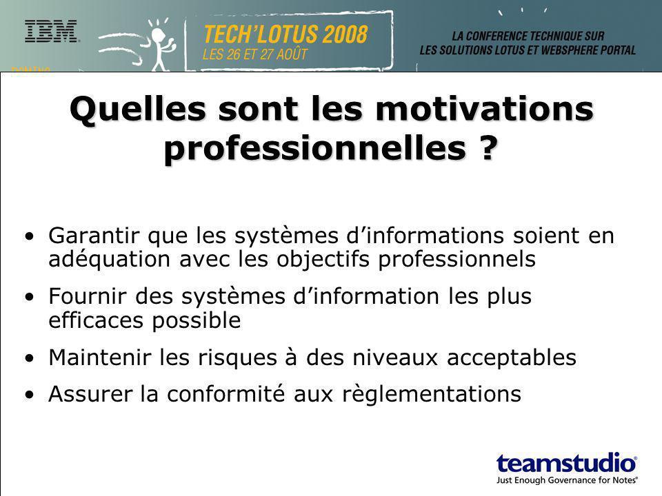 Garantir que les systèmes dinformations soient en adéquation avec les objectifs professionnels Fournir des systèmes dinformation les plus efficaces po