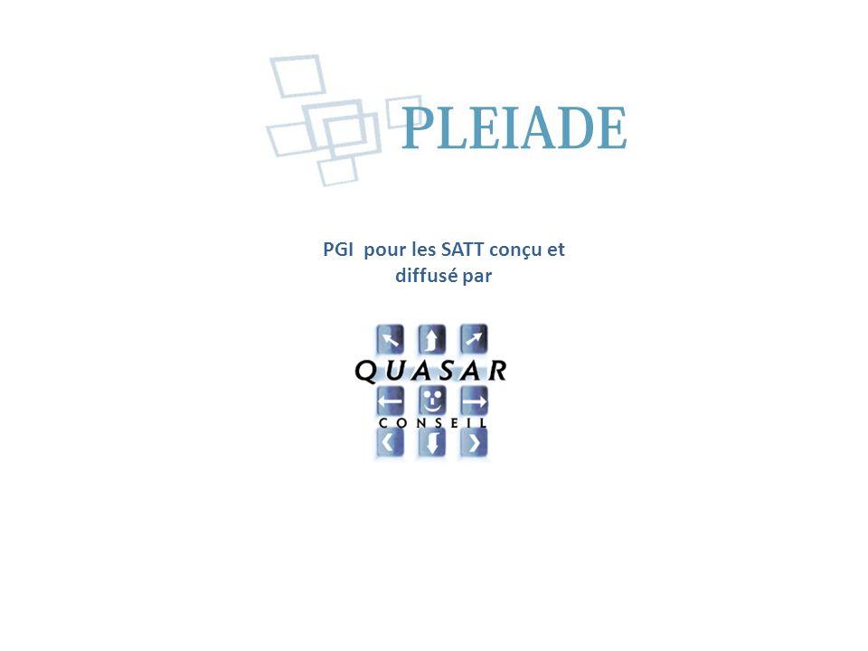 La solution de gestion pour les SATT PGI conçu et diffusé par
