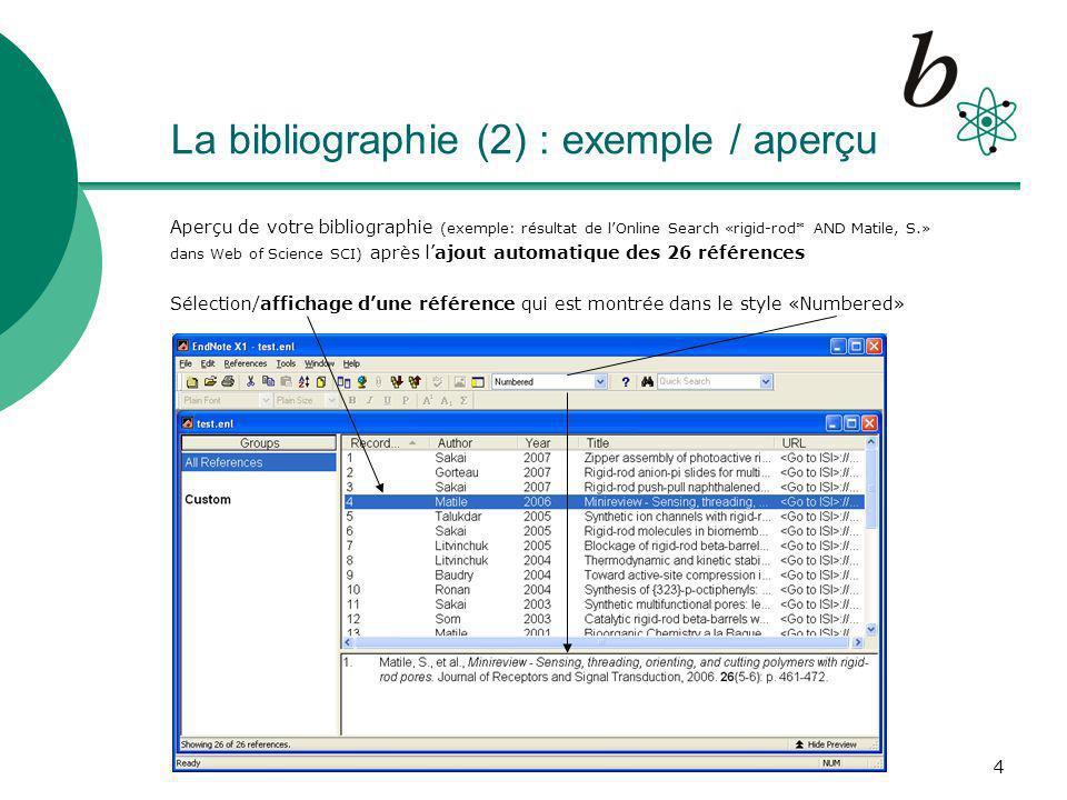 15 Tips & Tricks o Connexions et Filtres dimport : essayez de trouver linterface ou le filtre spécifique pour votre base de données Exemples : chercher/sauver des documents de Medline (OVID) ou PubMed (NLM), sélectionner le filtre le plus spécifique pour votre catalogue de bibliothèque RERO RERO_XI RERO_Geneve_XI http://www.unige.ch/biblio/chercher/endnote.htmlhttp://www.unige.ch/biblio/chercher/endnote.html o Création dun Output Style personnel Menu : Edit – Output Style – Edit Numbered prendre, éditer puis adapter des pages existantes, donc déjà correctement formatés (ici, Templates pour Reference Types)