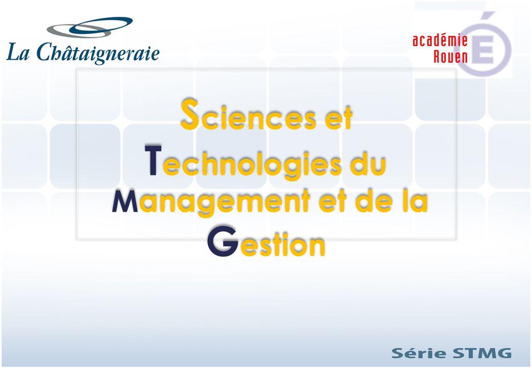 S ciences et T echnologies du Management et de la G estion S ciences et T echnologies du Management et de la G estion