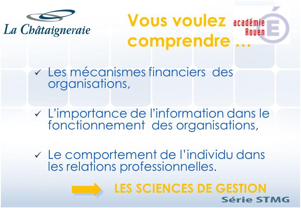 Les mécanismes financiers des organisations, Limportance de linformation dans le fonctionnement des organisations, Le comportement de lindividu dans l