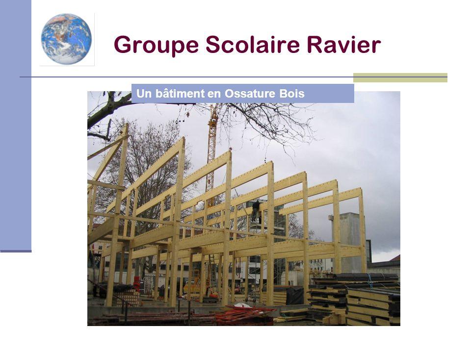 Un bâtiment en Ossature Bois Groupe Scolaire Ravier