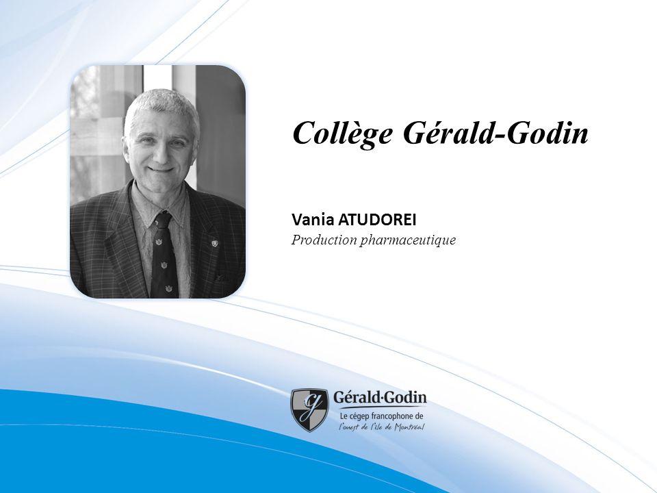 Collège Gérald-Godin Vania ATUDOREI Production pharmaceutique