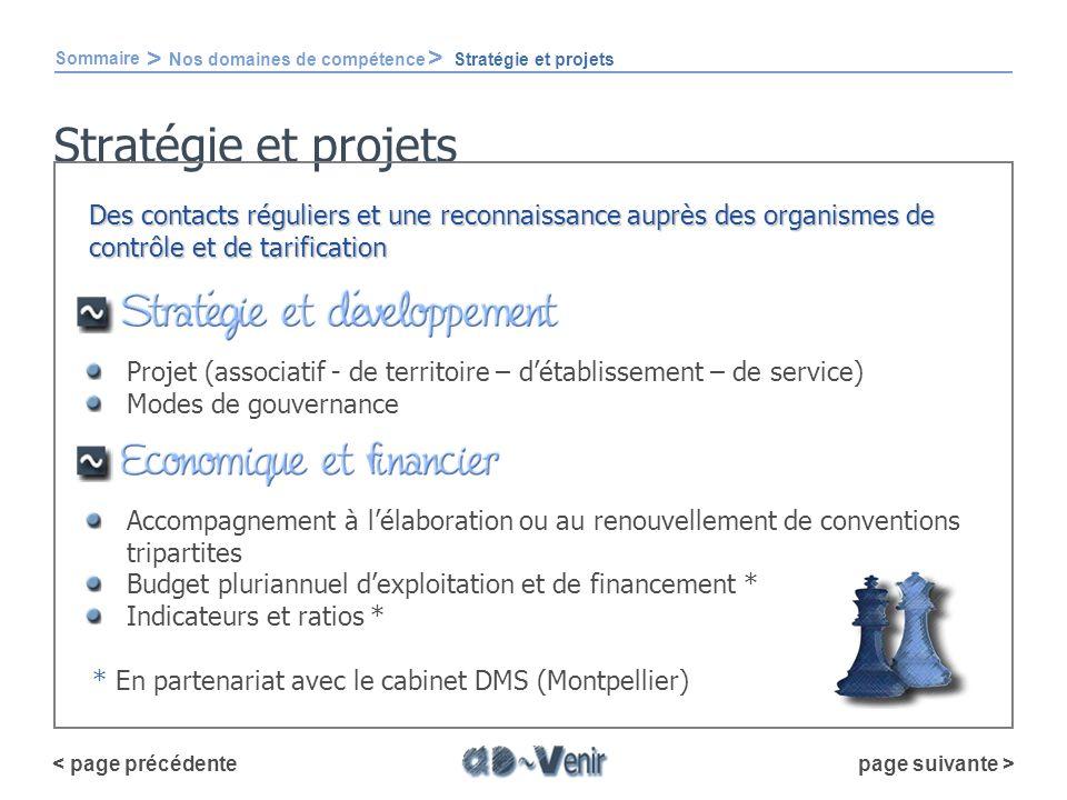 Stratégie et projets Sommaire > Nos domaines de compétence > Stratégie et projets Projet (associatif - de territoire – détablissement – de service) Mo