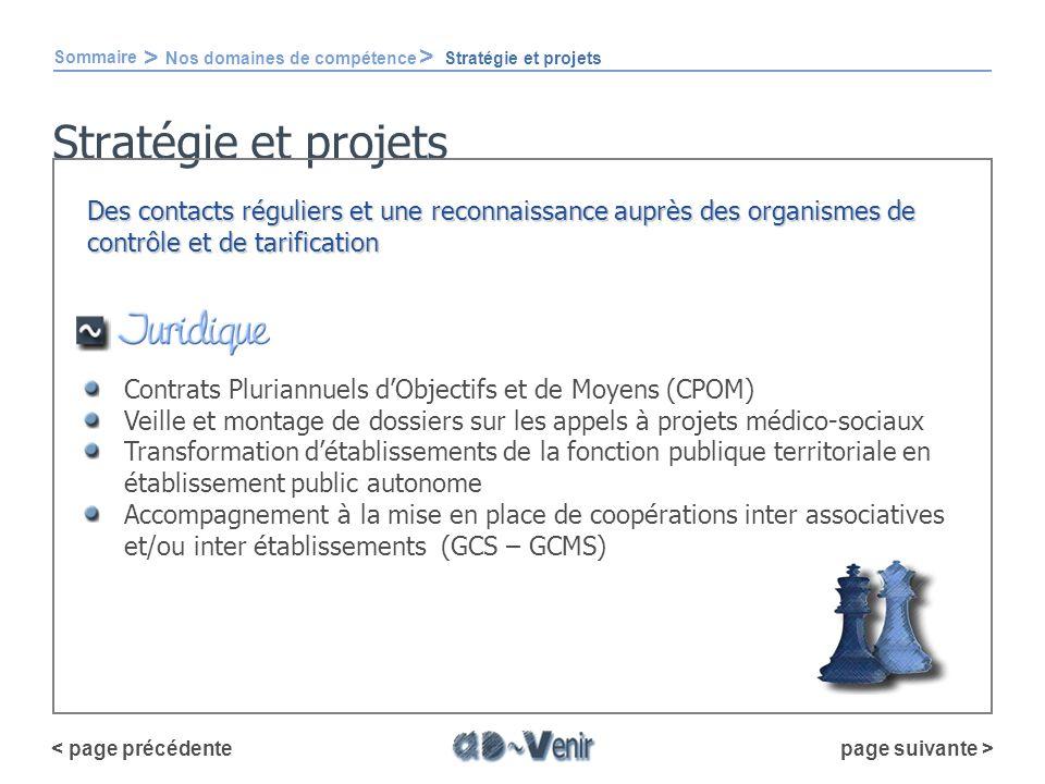 Stratégie et projets Contrats Pluriannuels dObjectifs et de Moyens (CPOM) Veille et montage de dossiers sur les appels à projets médico-sociaux Transf