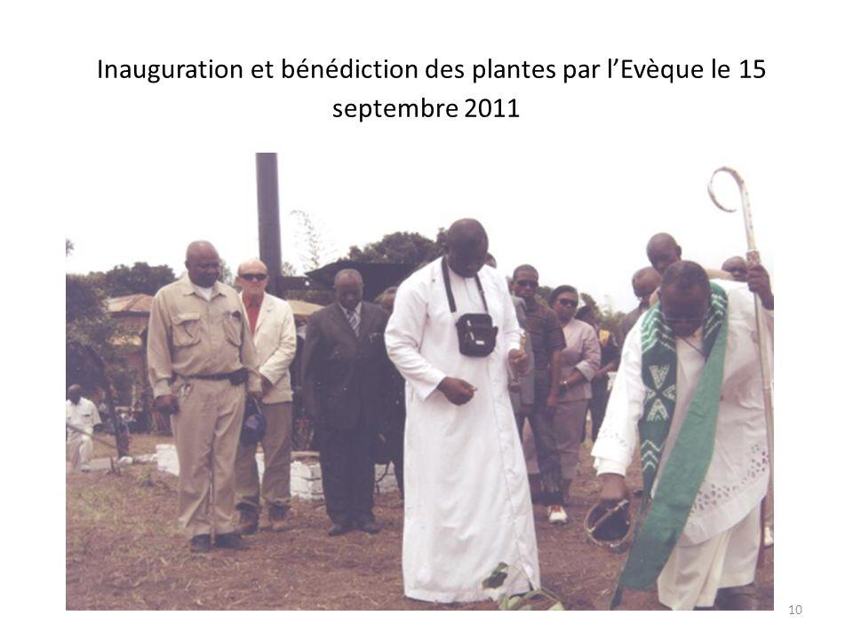 Inauguration de la mise en place des plantes par lAD et arrosage par lADF 9