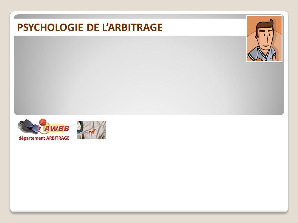 PSYCHOLOGIE DE LARBITRAGE