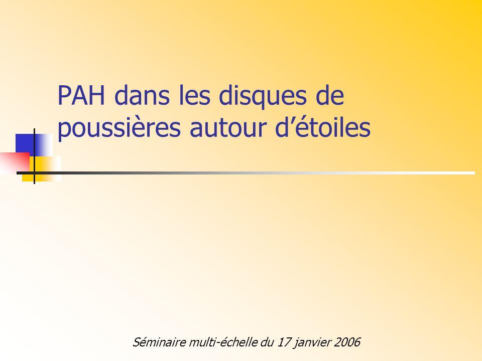 Qui sont les PAHs ( hydrocarbure aromatique polycycliques) .