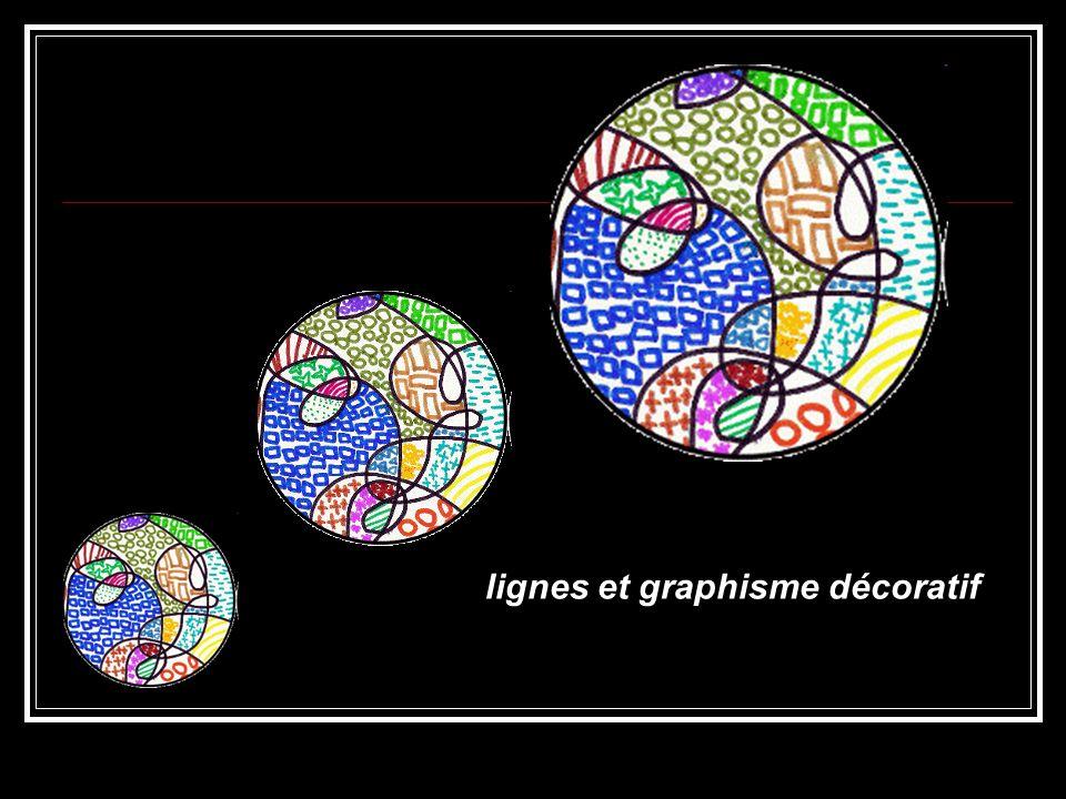 lignes et graphisme décoratif