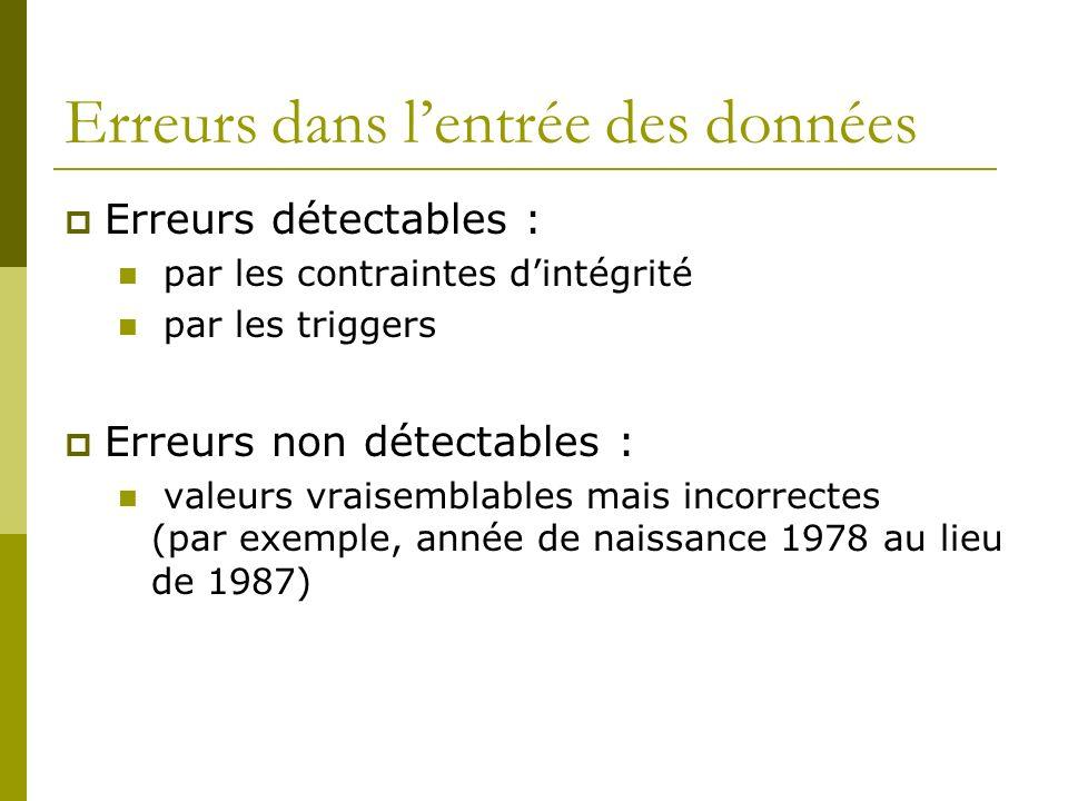 DIFFERENCE AVEC POINT DE SAUVEGARDE POINT DE SAUVEGARDE ==> COHERENCE PHYSIQUE POINT DE REPRISE ==> COHERENCE LOGIQUE OBJECTIF DES POINTS DE REPRISE ESPACER LA DUREE ENTRE DEUX POINTS DE SAUVEGARDE.