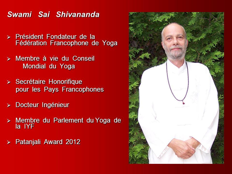 Conseil d administration Président Vice Présidente Secrétaire Générale Secrétaire Canada Secrétaire France Swami Yogacharya Parvati Swami Locana Swami Vijnananda Yogacharya J.P.