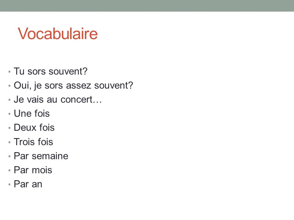 Irregular Verbs All irregular French verbs must be memorized.