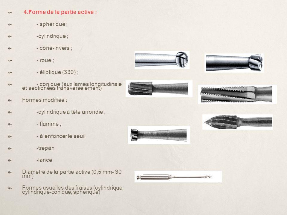 Instrumentar INSTRUMENTAR ABRAZIVINDICATII DE UTILIZARE 1.Freze tronconice lungi sau cilindrice diamantate sau din carbura de tugsten 2.Freze tronconice efilate cu virf rotunjit diamantate(0,8mm)granulatie medie 3.Freza tronconica groasa,efilata,cu virf rotunjit diamantata(1,2mm) 4.Kerr sau materiale de amprenta 5.Freze tronconice efilate pentru piesa contraunghi *trasarea santului de ghidaj ocluzal *forme de retentie suplimentare *prepararea fetelor ocluzale *trasarea santurilor de ghidaj axiale *prepararea fetelor axiale ale dintelui *prepararea pragului chamfer *finisarea preparatiei *verificarea preparatiei ocluzale si a clerance-lui ocluzal *finisare