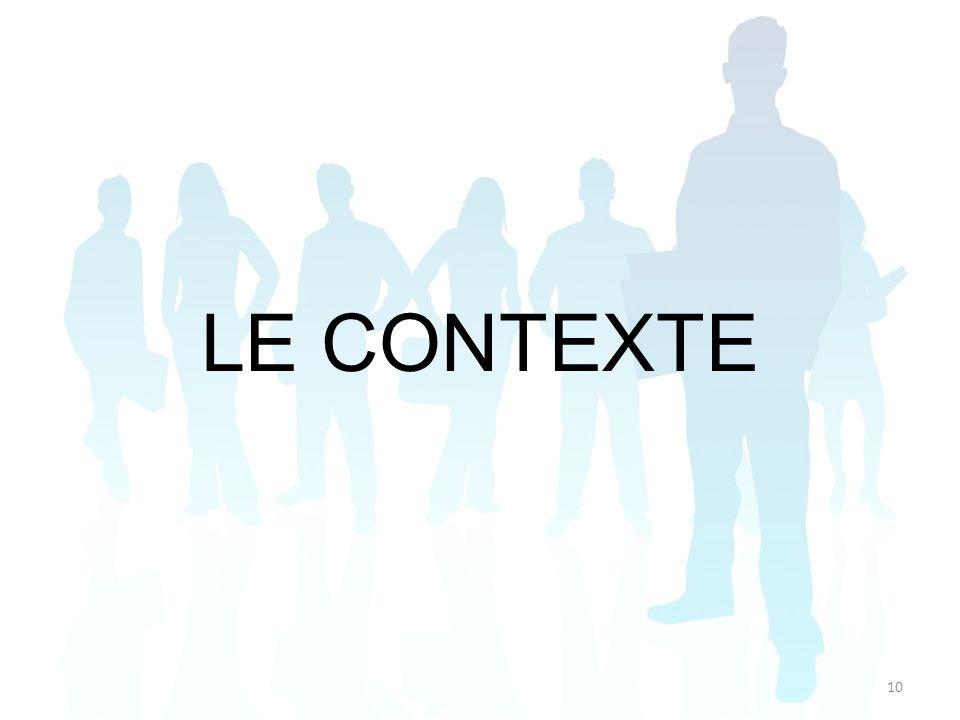 LE CONTEXTE 10